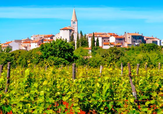 Why places like Bale, in the Croatian region of Istria, will be the first places where you will be able to travel carelessly?